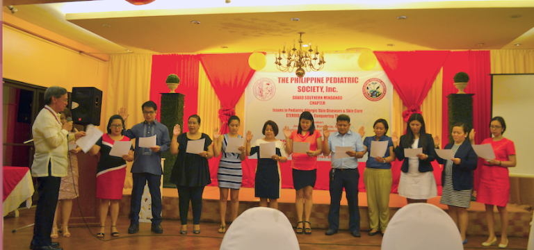 PPS Davao Southern Mindanao Chapter Induction 2016