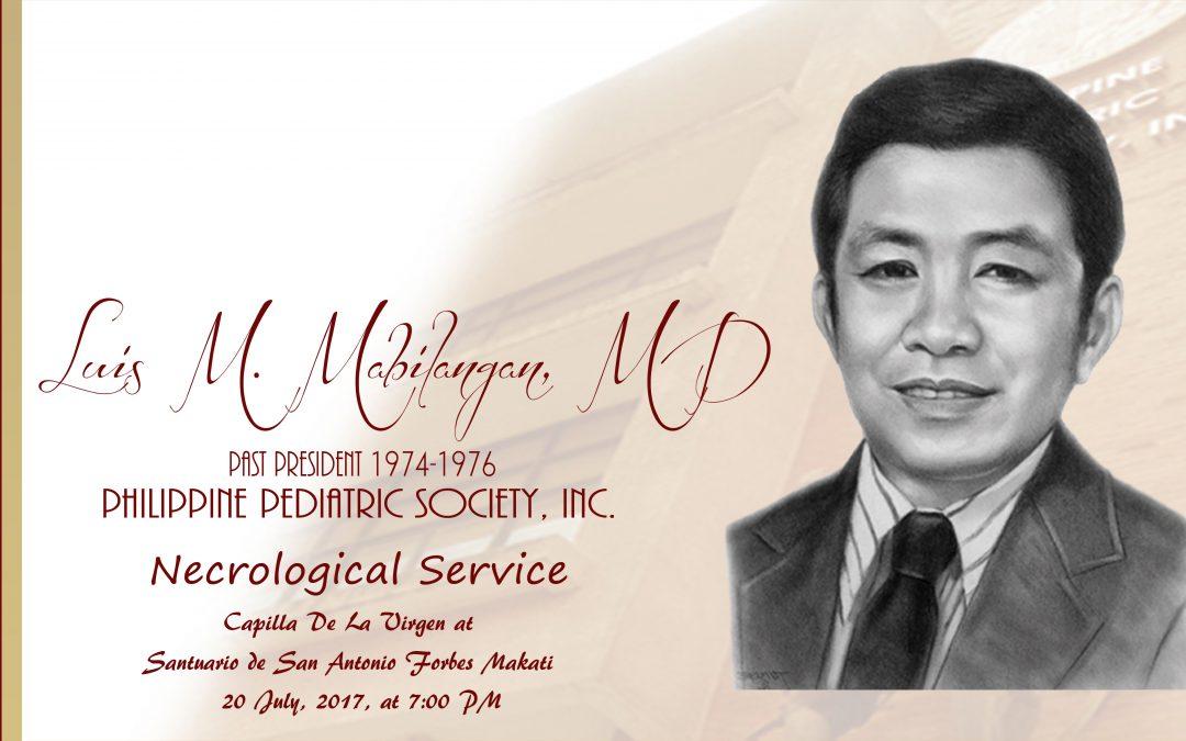 Luis M. Mabilangan, MD