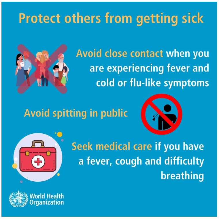 WHO Protect Others from Getting Sick 1