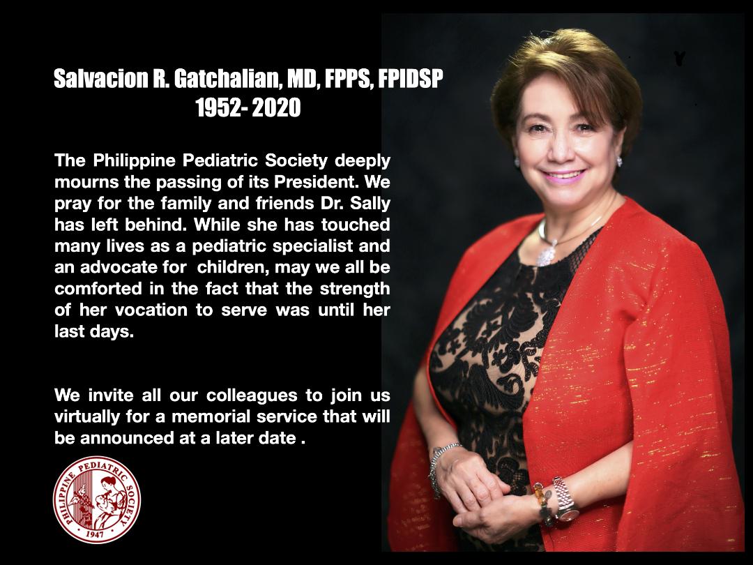 Dr. Salvacion R. Gatchalian