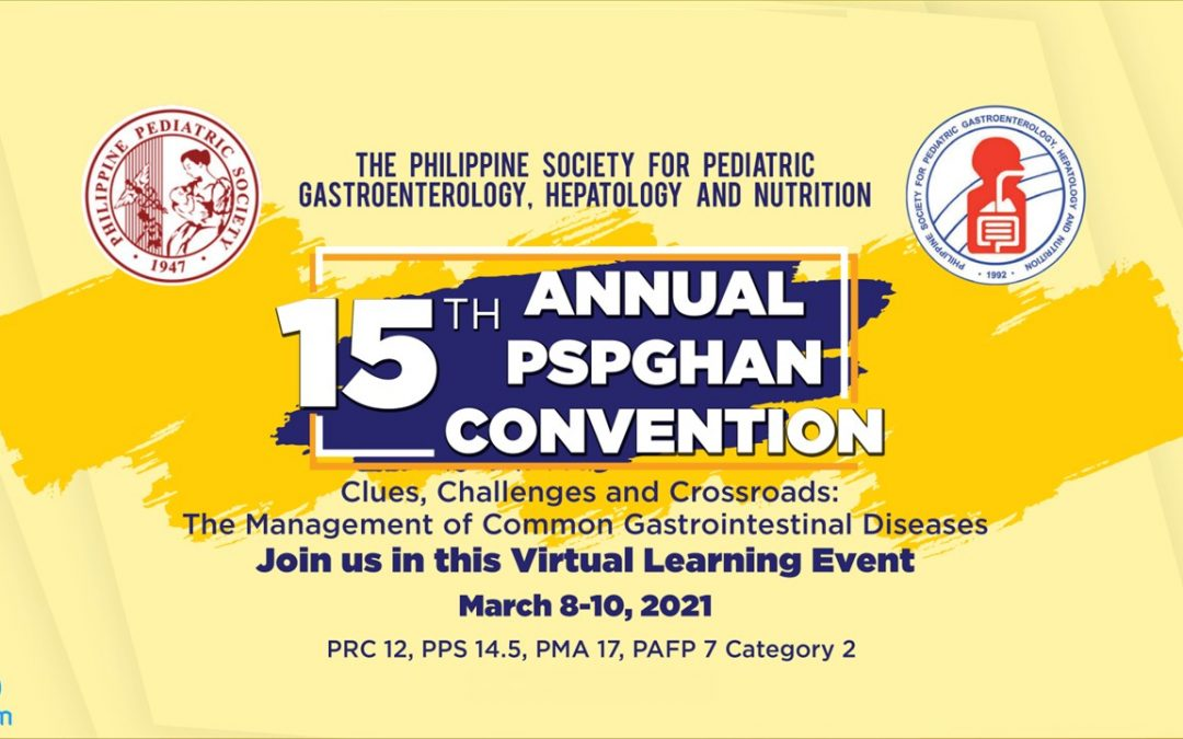 Focusing on Gastrointestinal Concerns : PSPGHAN's First Online Convention